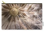 Clematis Seedpod Close Up Carry-all Pouch