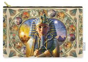 Cleo Tut Neffi Triptych Carry-all Pouch by Andrew Farley