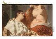 Cleopatra And Antony Carry-all Pouch