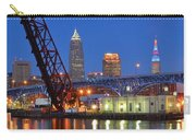 Cleveland Blue Hour Panoramic Carry-all Pouch