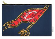 Cleveland Cavaliers Nba Team Retro Logo Vintage Recycled License Plate Art Carry-all Pouch