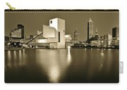 Cleveland In Sepia Carry-all Pouch
