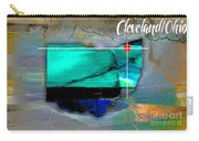 Cleveland Ohio Map Watercolor Carry-all Pouch