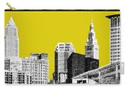 Cleveland Skyline 3 - Mustard Carry-all Pouch