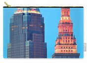 Clevelands Iconic Towers Carry-all Pouch