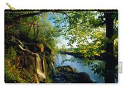 Cliffs And Trees Along Malanaphy Carry-all Pouch