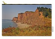 Cliffs Of Cape D'or From A Promontory Over Advocate Bay-ns Carry-all Pouch