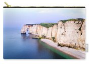 Cliffs Of Etretat 3 Carry-all Pouch