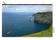 Cliffs Of Moher Looking North Carry-all Pouch