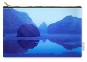 Cliffs On The Coast At Dawn, Meyers Carry-all Pouch