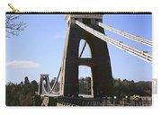 Clifton Suspension Bridge Bristol Carry-all Pouch