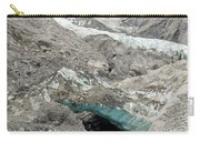 Climate Change Melting Glacier Ice And Sheer Rock Carry-all Pouch