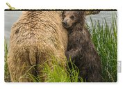 Clinging To Mom Carry-all Pouch