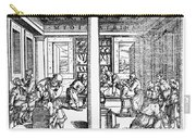 Clinic Scene, 1550 Carry-all Pouch