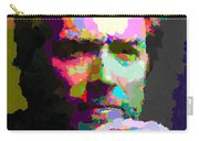 Clint Eastwood - Abstract Carry-all Pouch