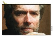 Clint Eastwood Portrait Carry-all Pouch