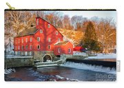 Clinton Mill In Winter Carry-all Pouch