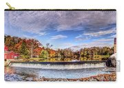 Clinton Nj Historic Red Mill Pano Carry-all Pouch