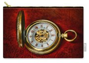 Clock - The Pocket Watch Carry-all Pouch by Paul Ward