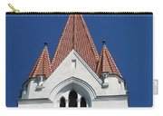 Clock Tower. Evangelic Lutheran Church. Silute. Lithuania. Carry-all Pouch