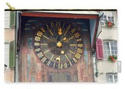 Clock Tower In Solothurn Carry-all Pouch