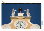 Clock Tower In Bardolino Carry-all Pouch