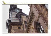 Clock Tower In New Haven Connecticut Carry-all Pouch