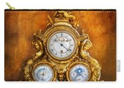 Clockmaker - Anyone Have The Time Carry-all Pouch by Mike Savad