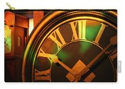 Clocks Carry-all Pouch by William Selander