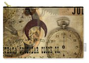 Clockworks Carry-all Pouch by Fran Riley
