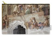 Cloister Fresco Carry-all Pouch by Joan Carroll
