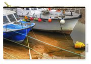 Close Up Boats Carry-all Pouch by Svetlana Sewell