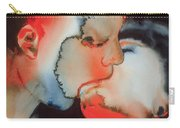 Close Up Kiss Carry-all Pouch