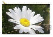 Close Up Of A Margarite Daisy Flower Carry-all Pouch