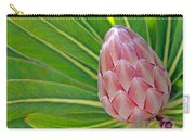 Close Up Of A Protea In Bud Carry-all Pouch