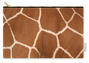 Close-up Of A Reticulated Giraffe Carry-all Pouch