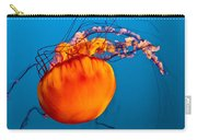 Close Up Of A Sea Nettle Jellyfis Carry-all Pouch