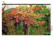 Close-up Of Cabernet Sauvignon Grapes Carry-all Pouch