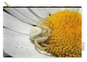 Close-up Of Crab Spider Carry-all Pouch