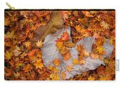 Close-up Of Fallen Maple Leaves Carry-all Pouch