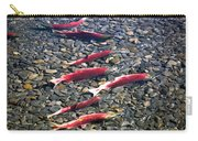 Close-up Of Fish In Water, Sockeye Carry-all Pouch