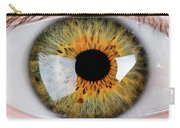 Close-up Of Human Eye, Hazel Carry-all Pouch