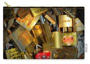 Close Up Of Paris Locks Of Love Carry-all Pouch