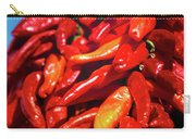 Close-up Of Red Chilies, Taos, New Carry-all Pouch