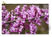 Close-up Of Redbud Tree Blossoms Carry-all Pouch