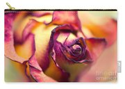 Close Up Of The Dry Rose Carry-all Pouch