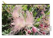 Close-up Of The Prairie Smoke Wildflower Carry-all Pouch