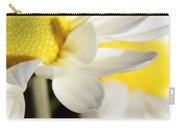 Close Up Of White Daisy Carry-all Pouch