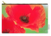 Close Up Poppies Carry-all Pouch
