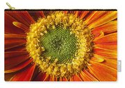 Close Up Yellow Orange Mum Carry-all Pouch